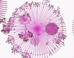 הוירליות של הרשת