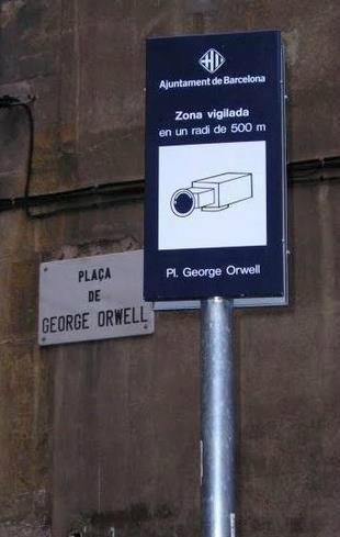 תמונת היום: ג'ורג' אורוול וטכנולוגיות מידע מודרניות
